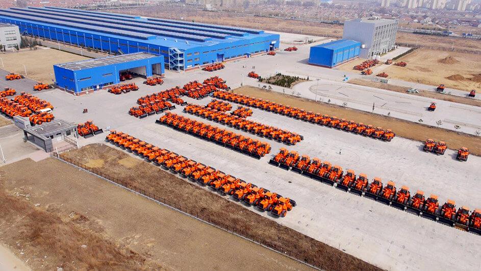 История Doosan Infracore Shandong