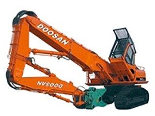 dx300lc demolition 0